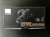 Nikon D5100 + 18-55mm + 55-200mm + 35mm lenses + Battery Charger