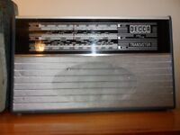 DECCA - Vintage Radio - As Seen - To Clear - Needs Attention.