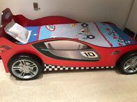 Racing Car Bed - single bed - kids' racer bed