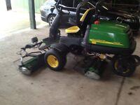John Deere 2500E Diesel Driven 3 gang ride on lawn/golf mower - Absolute Bargain! - Be Quick!