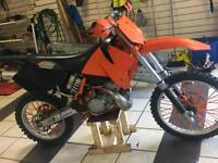 KTM 200 EXC CROSSERS OFF ROAD FULLY REBUILT GOES A DREAM EXTRAS FAST NOT QUAD CRF YZ CR 250 125 450