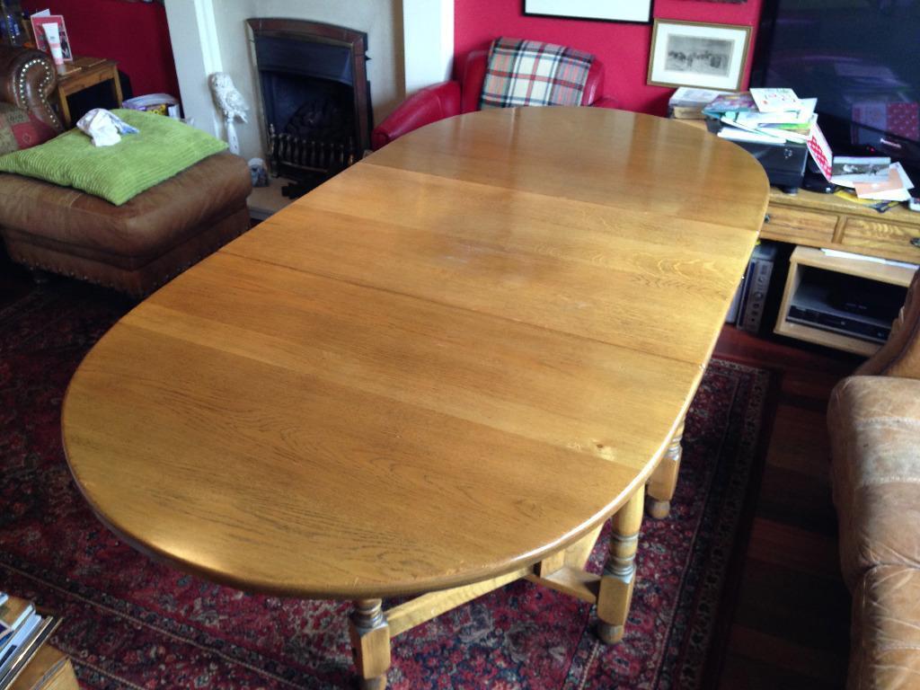 Dining Table Antique Oak Gateleg in Bearsden Glasgow  : 86 from www.gumtree.com size 1024 x 768 jpeg 91kB