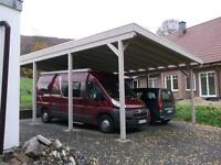 myport wohnwagencaravan carport alu aluminium carport flachdach with carport fr wohnwagen. Black Bedroom Furniture Sets. Home Design Ideas