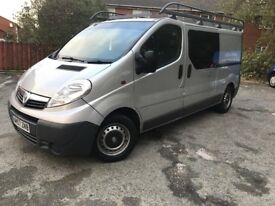 VAUXHALL VIVARO LWB 2.0L 2900 CDI 6 SPEED 12 MONTHS MOT 2008 DRIVES LIKE NEW MINT CONDITION FSH