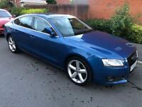 Blue Audi A5 3.0TDi