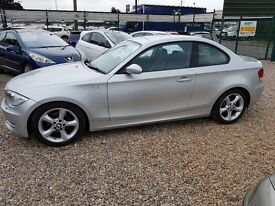 2008 bmw 120d coupe AUTOMATIC leather alloys drives like new in immaculate condition