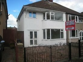 Double Furnished room in a three bedrooms semi-detached house.