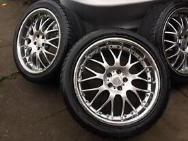 18inc deep dish alloys come off from seat leon in good condition