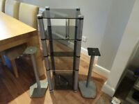 Apollo Hi-Fi rack and speaker stands
