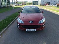 Very cheap DIESEL Peugeot 407 1.6HDI with long mot! Very clean inside out!