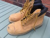 Men's Steel Toe Cap Size 8 Boots