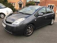 2007 TOYOTA PRIUS HYBRID 1.5 WITH REVERSE CAMERA SAT NAV AND FULL SERVICE HISTORY AND FULL MOT