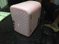 Pink Mini Fridge