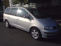 SEAT Alhambra, lots of service history!