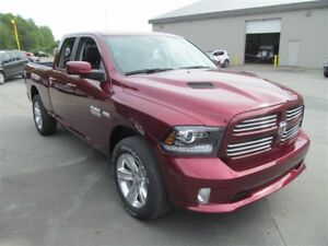 2017 Ram 1500 Sport - Demo Sale-Save! Nav/Camera/Low km's