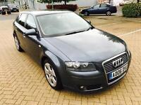 Audi A3, SE FSI, 2006,AUTOMATIC, 1-OWNR, F.S.HSTRY,BHP 200, PETROL,2KEYS,MOT