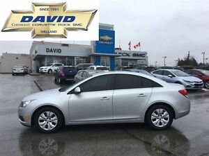 2014 Chevrolet Cruze 1LT 4DR, LOADED, REAR CAM, LOCAL TRADE!!!