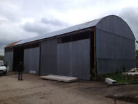 JOB LOT 75 X 30 SHED SHEETING REMOVED AND ON PALLETS