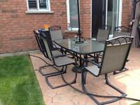 7 piece patio table & chairs for sale