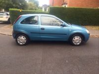 VAUXHALL CORSA 1.0 ONLY 65k WARRANTED MILES