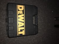 BRAND NEW Dewalt 10.8 recip saw drill with IRWIN blades DCS310