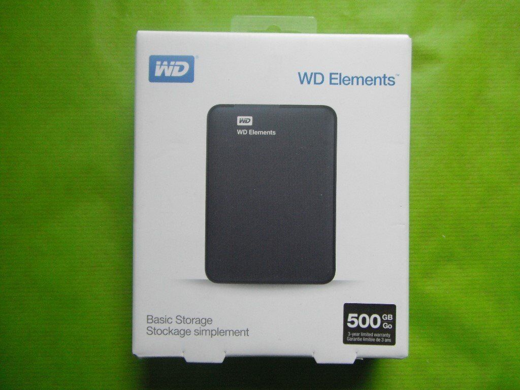 House Clearance Portable External Hard Drive Hdd With Usb 20 Harddisk Eksternal Wd Elements 2tb 30 Brand New Original
