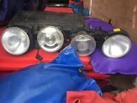 E30 BMW head lights
