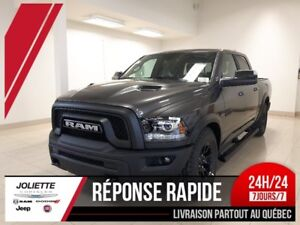 2018 Ram 1500 Rebel «BLACK EDITION» 8.4, kit remorquage et plus