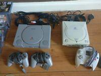 Original PlayStation and Sega Dreamcast Bundle - 47 games