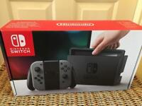 Nintendo switch console plus switch 123 game