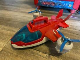 Paw patrol Air patroller with flight Ryder and Robodog