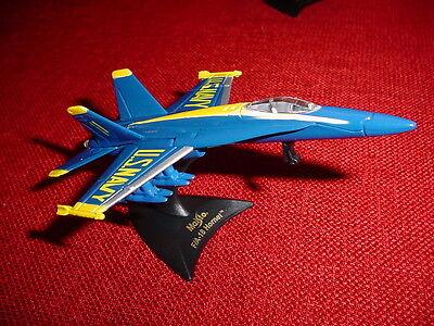 NEW NORTHROP F/A-18 BLUE ANGELS  AIRCRAFT FIGHTER MODEL MCDONNEL DOUGLAS