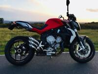 Mv Agusta Brutale 675cc , 2015 naked sports bike , Immaculate condition