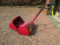 Suffolk Punch Electric Cylinder Mower - self-propelled