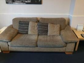 Large 2 and 3 seater sofas