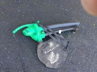 Electric leaf blower in used condition
