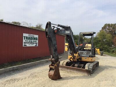 2008 John Deere 50d Hydraulic 11000lb Mini Excavator Cheap
