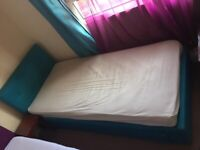 ***QUICK SALE*** 2 Blue & Pink Matching Single Beds w/Drawer For Kids in Great Condition