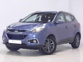 Hyundai ix35 SE CRDI (blue) 2014-10-22