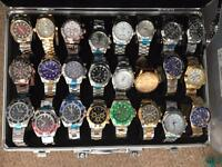 Rolex automatics tag breitling local deliv freee