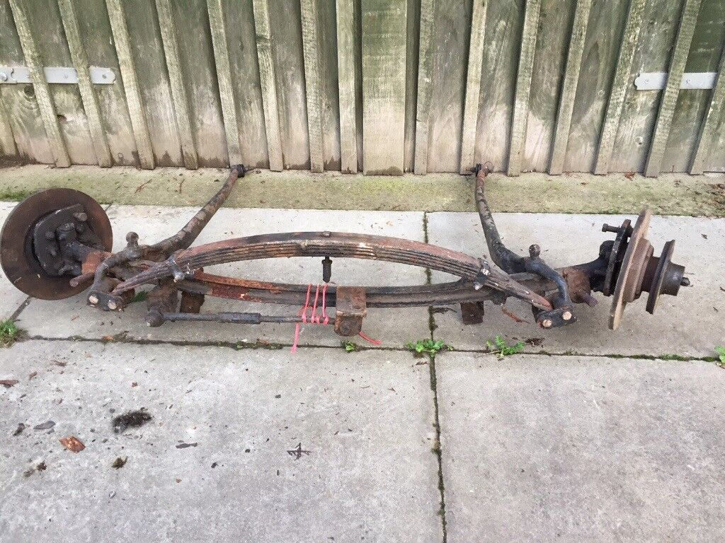 Classic vintage hot rod rat rod custom special front axle with disc brakes  | in Newton Abbot, Devon | Gumtree