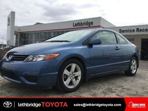 Value Point 2007 Honda Civic DX Coupe - LOW KM! WINTER TIRES!