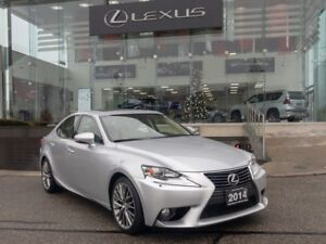 2014 Lexus IS 250 Luxury Package NAVIGATION BACKUP CAM SUNROOF