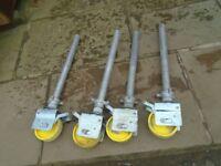4 boss scaffold tower wheels