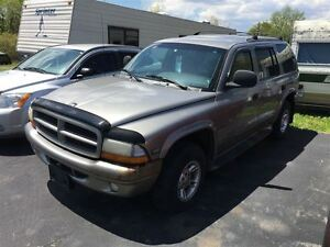 2000 Dodge Durango SLT 4X4 AS TRADED SPECIAL !!