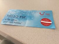 TUI HOLIDAY VOUCHER