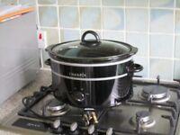 Genuine used Crock-Pot slow cooker Black Model SCV400KB-IUK P.N. 136229 sell for £15