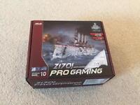 Asus Z170I Pro Gaming Itx motherboard (less than month old)