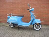 * Brand New 2017 * AJS Modena Learner 125 Scooter. £200 free Clothing! Warranty. Free Delivery. Eu4: