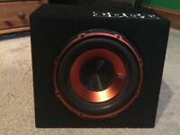 """Edge EDB10 10"""" V2 Active Subwoofer with cables"""